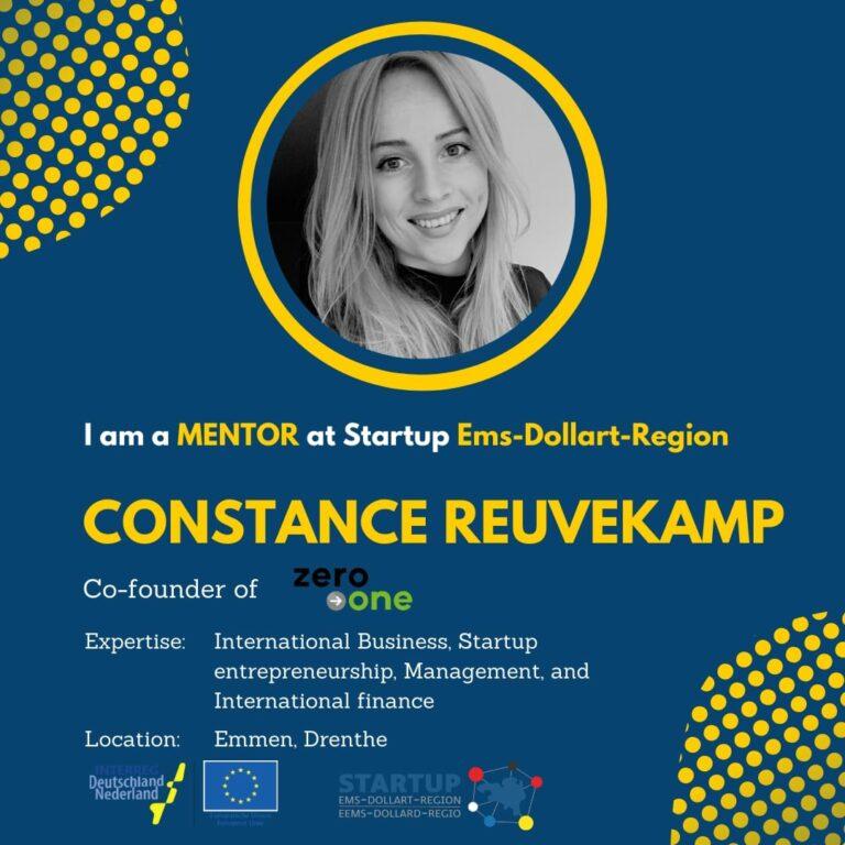 Constance Reuvekamp_Startup-EDR_Mentor